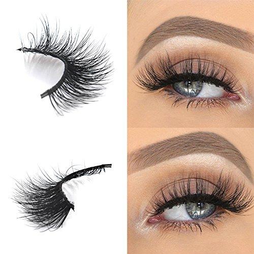 Arison Lashes Falsche Wimpern Natürliches Aussehen Wiederverwendbar 3D Reine Handarbeit Für Make-Up Wimpern Verlängerung Einfach Erstellen Sie Einen Glamourösen Look (evelyn)