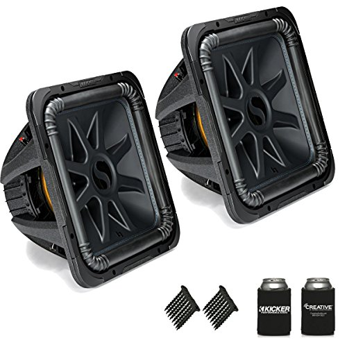 KICKER 44L7S152 solobaric L7 15 inch best bass car speakers