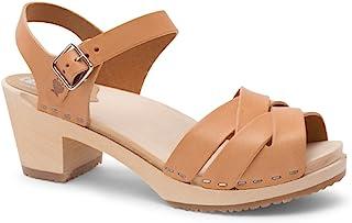 1016534d73 Sandgrens Swedish High Heel Wood Clog Sandals for Women | Rio Grande