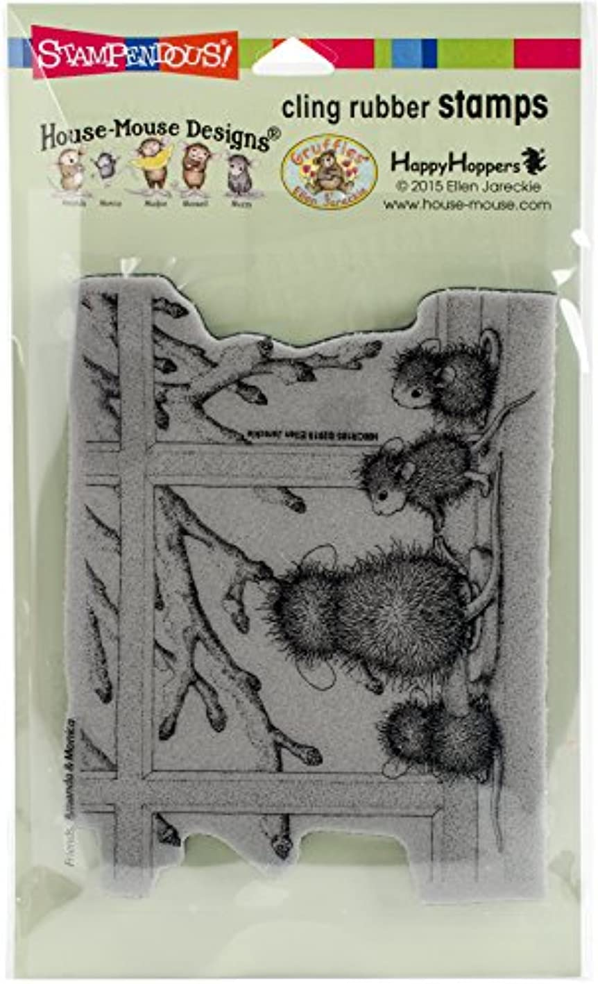 STAMPENDOUS HMCR105 Cling Stamp Window Wonder pwdatdvcsge476