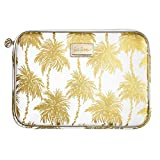 Lilly Pulitzer Tech Sleeve Fits up to 13 inch Laptop (Metallic Palms)