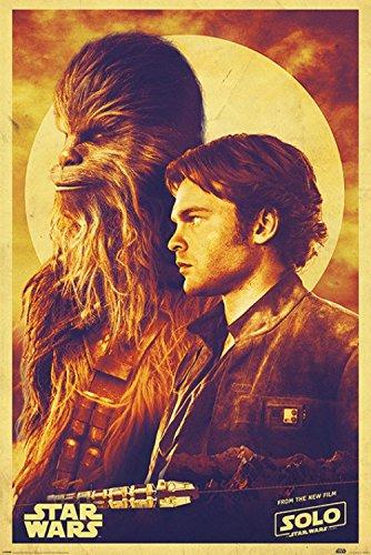 1art1 Star Wars - Han Solo: Una Historia De Star Wars, Han Y Chewie Póster (91 x 61cm)