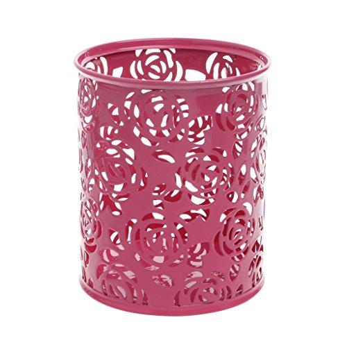 Bogji holle bloempothouder voor het opbergen van penselen en penselen M roze