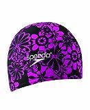 Speedo Unisex Swim Cap Fabric Comfort Cap Solid