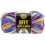Lion Brand Yarn 430-213B Jiffy Thick and Quick Yarn, Smoky Mountains