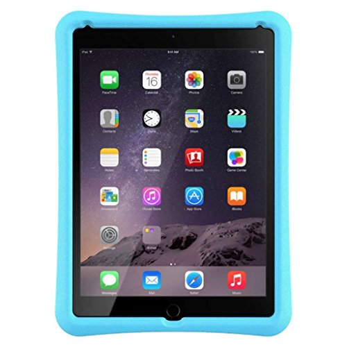 Tech21 EVO Play for iPad Air 1/2 - Blue/Green, Bright Blue