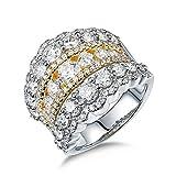 AmDxD no-metal-stamp (Fashion only) oro blanco 18 ct Round Brilliant Diamond