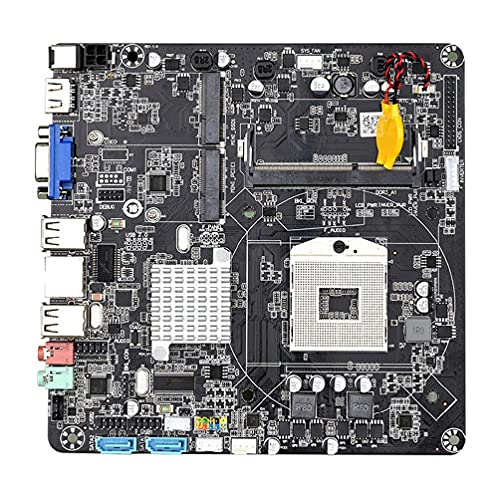 unknows Mini ITX Mainboard, HM55B PGA988 8 GB USB 2.0 Desktop PC Mainboard DDR3 SATA II ITX placa base