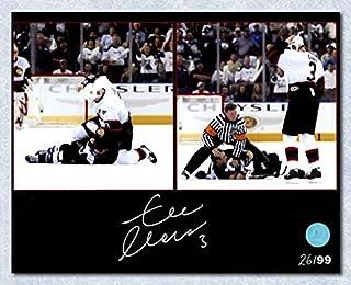 Zdeno Chara Ottawa Senators Autographed Fight vs Lecavalier 8x10 Photo #/99