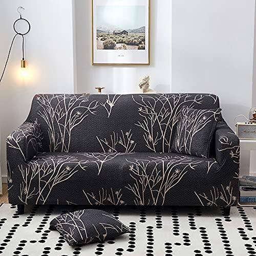WXQY Sala de Estar Moderna Cubierta de sofá elástica combinación Esquina Cubierta de sofá Cubierta de protección de Silla Cubierta de sofá Cubierta de sofá A30 4 plazas