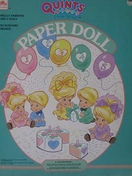 Paperback Quints Paperdoll Book