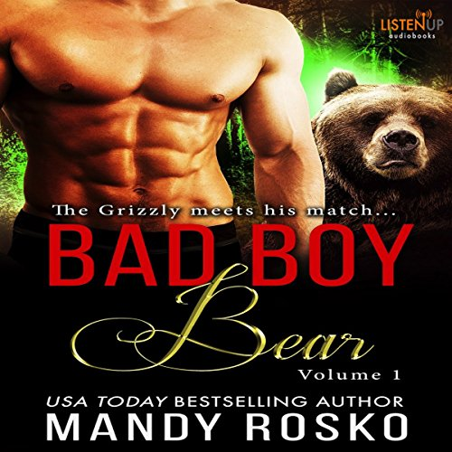 Bad Boy Bear audiobook cover art