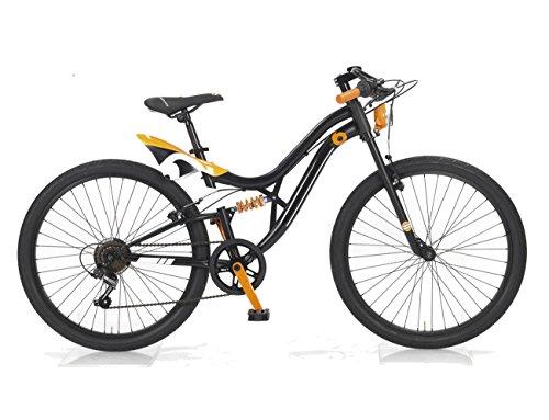 MBM 400/18 Jump, Fat Bike da Montagna Unisex Bambini, Nero A01, Taglia Unica