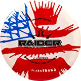 Dynamic Discs Lucid Raider MyDye American Flag Disc Golf Disc | Maximum Distance Frisbee Golf Driver | 170g Plus | Stamp Colors Will Vary