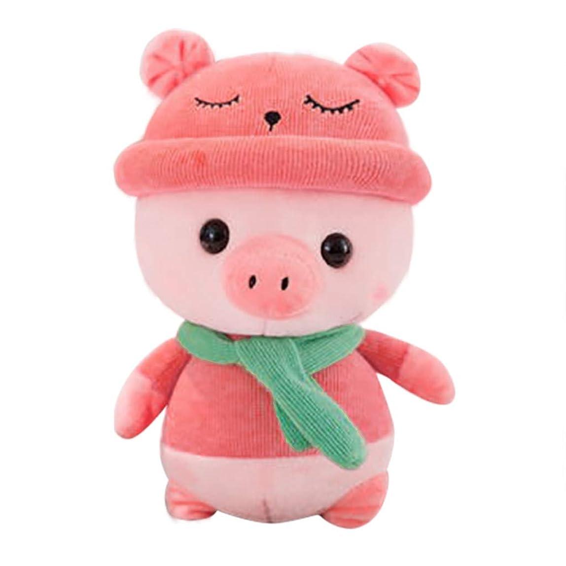 スライスモルヒネぺディカブ子供の豚のぬいぐるみのおもちゃぬいぐるみの豚子供の贈り物幼児のおもちゃ7.8インチ