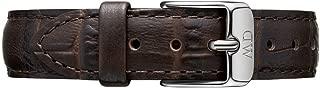 Daniel Wellington Petite York Leather Strap 32 mm, Silver - DW00200152