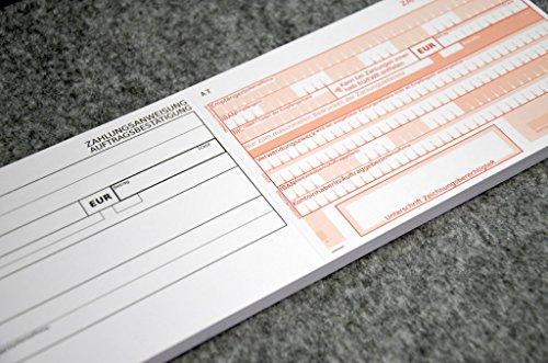 250 Stück - Zahlungsanweisungen   Zahlscheine   Erlagscheine Standard   blanko