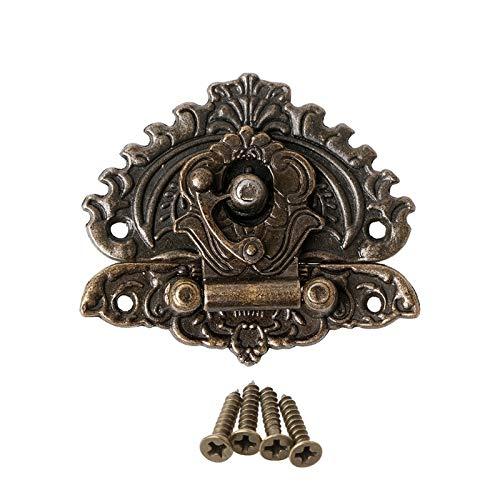 LMJ Estilo Retro Decorativo de la Vendimia Cerrojo Toggle Maleta rectángulo del Bloqueo de Gancho de Cierre Hebillas # 0305#