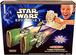 Star Wars Episode I Action Fleet Sparking Turbo Podracers, Gasgano's Podracer, Star Wars Episode One