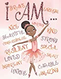 I Am: Positive Affirmations for Kids   Coloring Book for Young Black Girls   African American Children   Self-Esteem and Confidence Coloring Book for ... and Brown Girls with Natural Curly Hair)