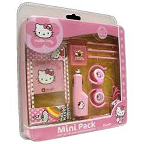 Iingo Hello Kitty - Accesorios para Nintendo DSi XL, color rosa y...