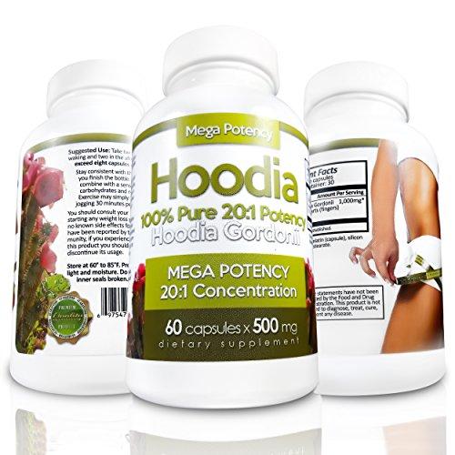 Hoodia Gordonii Natural Appetite Suppressant Pills 20 1 Potency