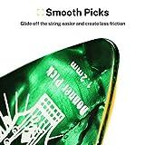 Celluloid Gitarren Plektren von Donner Gitarren Picks 4 verschiedene Stärke 16 Stück - 6