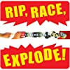 """Boom City Racers Duo Pack -Rip, Race, Explode Collectable Toy Car Game Including """"Boom Yah! """" Plus Mystery Vehicle #2"""