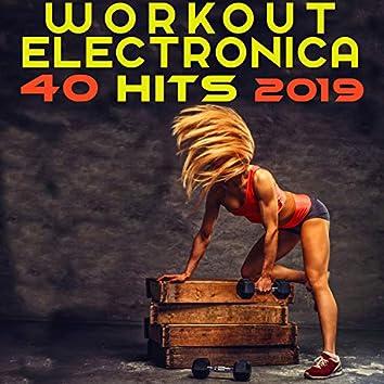Workout Electronica 40 Hits 2019 (3hr DJ Mix)
