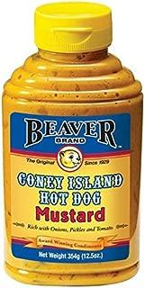 Beaver Coney Island Hot Dog Mustard - 354g
