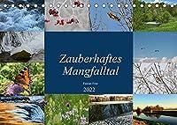 Zauberhaftes Mangfalltal (Tischkalender 2022 DIN A5 quer): Zauberhafter Fluss zwischen Muenchen und Rosenheim: die Mangfall (Monatskalender, 14 Seiten )