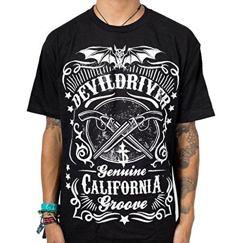 Devildriver Sawed Off Herren Black T-Shirt