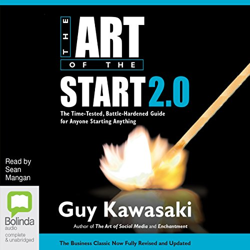 The Art of the Start 2.0 audiobook cover art