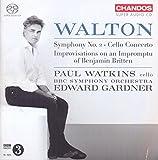 Walton: Sinfonía Nº 2; Concierto Para Chelo / Watkins
