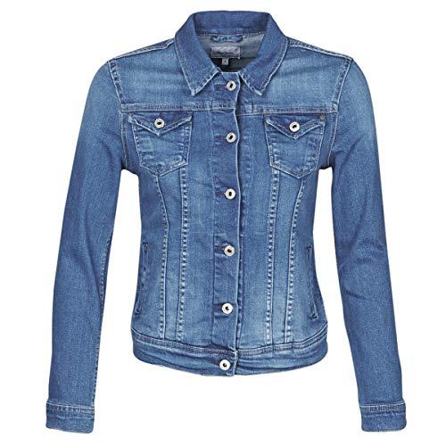 Pepe Jeans Damen Übergangsjacke Thrift blau M