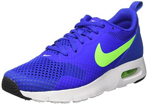 Nike Jungen Fitnessschuhe, Blau (Racer Blue/Electric Green-wht), 38 EU