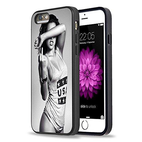 iPhone 5S Case Apple 5/5S schwarz Cover TPU Gummi Gel–Retro Rose Totenkopf -  -