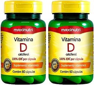 Vitamina D - 2 unidades de 60 Cápsulas - Maxinutri