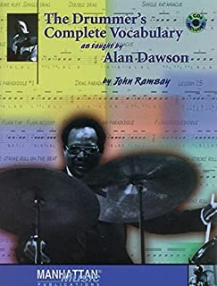 The Drummer's Complete Vocabulary As Taught by Alan Dawson: Book & 2 CDs