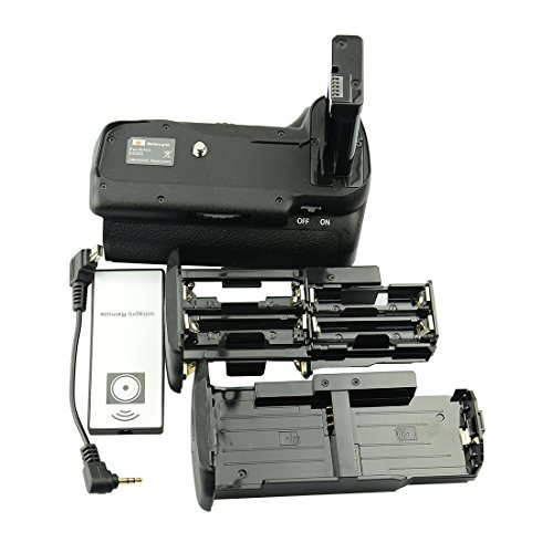 DSTE® Remoto Vertical Batería Apretón Titular Compatible con Nikon D5500 D5600 DSLR Cámara Fotográfica como MB-D5500