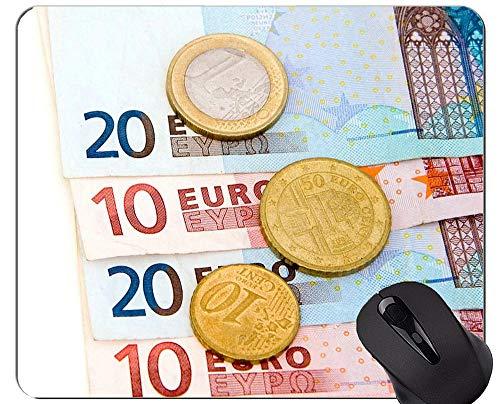 Rutschfeste Gummi-Gaming-Mausunterlage, Reichtum, Geld Geld-Mausunterlagen