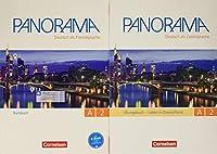 Panorama: Kursbuch und Ubungsbuch DaZ A2 mit Audio-CD