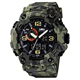Best Sport Watches - V2A Green Camouflage Analog Digital Sport Watches Review