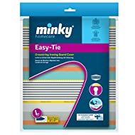 Minky PP22402500 Easy-tie Drawstring Ironing Board Cover, Assorted, 122 x 38 cm