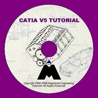 CATIA V5 TRAINING TUTORIAL DVD STEP BY STEP