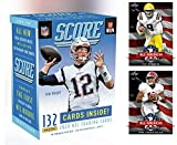 2020 Panini SCORE Football Blaster Box - 132 Cards/Box - 1 Hit Per Box! Look for EXCLUSIVE Tom Brady Tribute Cards. PLUS BONUS JOE BURROW and TUA LEAF AUTHORIZED AND AUTHENTIC ROOKIE FOOTBALL CARDS