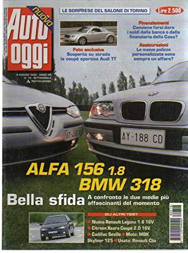 Auto Oggi 18 del Maggio 1998 Audi TT, Alfa 156, Bmw 318