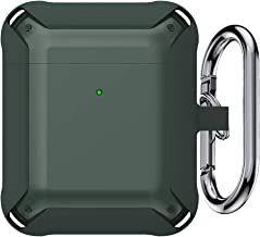 Tensea Armor Protective Hard Case Cover for Airpods, Shock-Absorbing TPU Tough Designer Cool Case with Keychain, Rugged Pr...