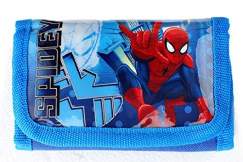 Portefeuille Spiderman - Portemonnaie - Porte-monnaie - Portmonee (u029)