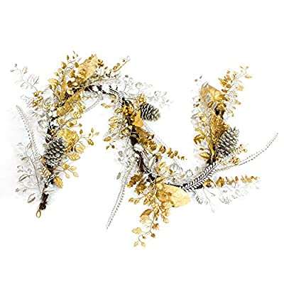 Lubao 6ft Hanging Fall Garland Vine Autumn Deco...